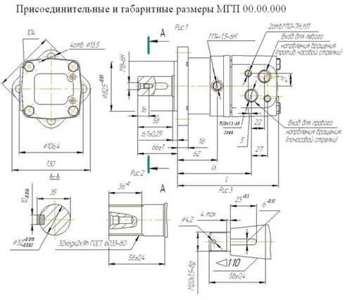 МГП 80 Гидромотор фото 1
